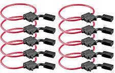 10x Sicherungshalter PKW Auto Flachsicherung Sicherung Halter wasserdicht 1,5mm²