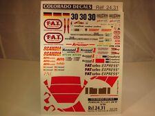 "DECALS 1/24 PORSCHE 911 GT1 #30 ""F.A.T"" LE MANS 1997 - COLORADO 2431"