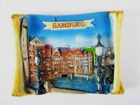 Hamburg Speicherstadt Germany Ansicht 3D Poly Magnet Souvenir Deutschland
