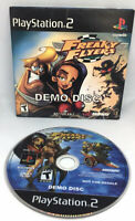 Freaky Flyers Playstation 2 Ps2 Demo Sampler CD 2002 Rare Complete Tested
