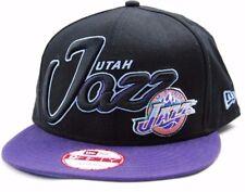 Utah Jazz New Era 9Fifty Black Top NBA Basketball Snapback Cap Hat