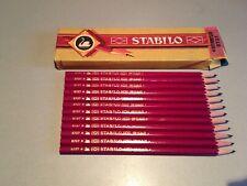 Vintage OLD SCHWAN-SWANO-STABILO-12 pcs pencils in Original Box-GERMANY--RARE
