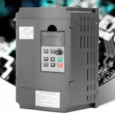 220V 1.5kW 2HP Single to 3 phase Variable Frequency Drive VFD Speed Controller