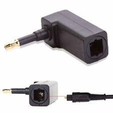 Câbles audio et adaptateurs fibre optique audio mâle