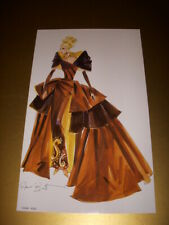 PORTRAIT IN TAFFETA BARBIE DOLL, ROBERT BEST AUTOGRAPHED LITHOGRAPH ONLY!