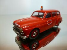 ELYSEE RENAULT FREGALE SAPPEURS POMPIERS - RED 1:43 -  VERY GOOD CONDITION