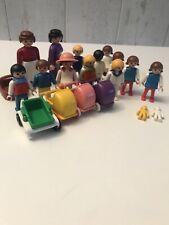 Vintage Estilo Victoriano Playmobile Bundle-Escuela Nursery niños 13 figuras 4 Sillas de paseo
