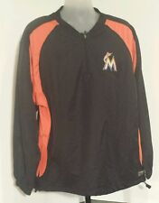 Miami Marlins Boombah MLB Windbreaker Jacket Adult Size XL