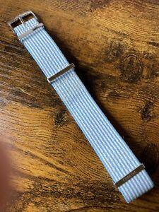 OEM Omega 20mm Strap & Signed SS Buckle