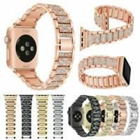 Bracelet en acier inoxydable pour bande Apple Watch Series 4 3 2 38-42MM