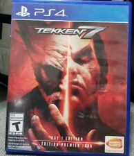 Tekken 7: Day 1 Edition (Sony PlayStation 4, 2017) Pre Owned / Used Code