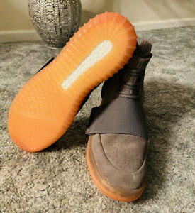 Adidas Yeezy Boost 750 High Top Gum Sole Dark Grey Glow Sneaker Size 11 Men's