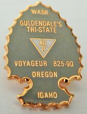RARE VTG GOLDENDALE'S TRI-STATE VOYAGEUR 825-90  PIN COLLECTIBLE DESIRED