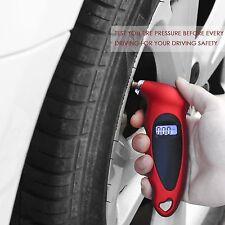 LCD Digital Tire Tyre Air Pressure Gauge Tester Tool For Auto Motorcycle Car Van