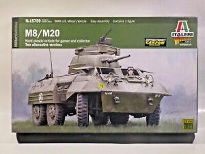 Italieri 15759 M8 / M20  1:56 - 28mm OVP/MIB inkl. Vers in D