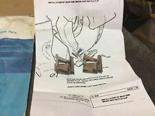 NOS FORD THUNDERBIRD CROWN VIC GRANADA REAR DISC BRAKE ANTI RATTLE CLIPS 1975 76