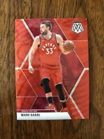 #49 MARC GASOL 2019-20 Panini Mosaic TMALL RED WAVE PRIZM LAKERS/RAPTORS