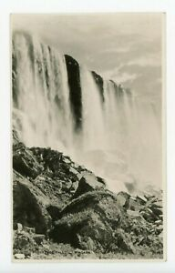 Horseshoe Falls NIAGARA FALLS Ontario Canada 1926 S J Hayward Real Photo PC