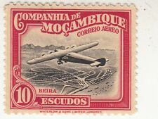 Mozambique Company 1935. Airmail. 10 escudos. Airplane Beira. Sc# C14 MNH
