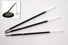 3 recharges stylo à bille Recharges Mines pour stylo avec chaîne