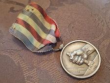 M15 - Médaille Medaglia Medal décoration commémorative CHEMINOT SNCF 1948 France