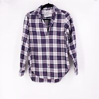 Frank & Eileen The Frank Shirt XS Plaid Long Sleeve Checked Cotton