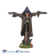 Dept 56  Halloween Village 6001750 Lit Sinister Scarecrow 2018