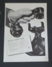 Original 1941 Print Ad BELL TELEPHONE SYSTEM Busier than Ever