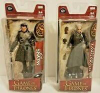 Game of Thrones Jon Snow & Daenerys Targaryen Action Figure HBO McFarlane Toys
