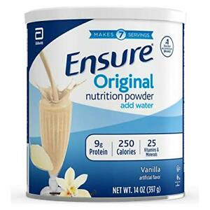 Ensure Original Nutrition Shake Powder with 9 grams of protein, Meal