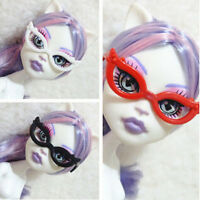 10pcs/set Doll Accessories Mini Plastic Glasses For Monster High Dolls Kids Toy