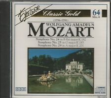 WOLFGANG AMADEUS MOZART - CD - Early Symphonies No. 16,18, 21 & 22 - BRAND NEW