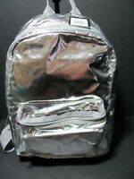 "Cynthia Rowley ""Brand New"" Silver Backpack Bookbag Shoulderpack"