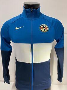 Nike Club America 20/21  N98 LE Soccer Jacket Blue White Size Mens XXL Only