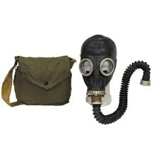 Russian Soviet Army Black Gas Mask Hose Filter Bag Rubber Gp5