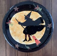 Halloween Witch Plate Susan Winget Certified International 8 1/2� Collectible
