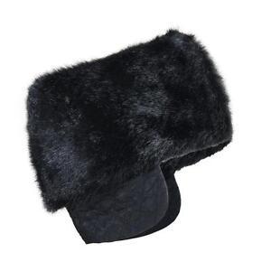 Sanremo Men's Warm Imitation Mink Top Faux Fur Fleece Russian Style Cossack Hat