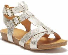 f51c7f567f8 Kork-Ease US 7 EUR 38 Doughty Double Ankle Strap Leather Sandal LT Gold