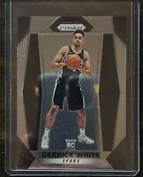 Derrick White 2017-18 Panini Prizm Rookie Base Card #298 San Antonio Spurs