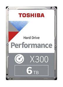 """Toshiba X300 6TB 7200RPM 128MB 3.5"""" SATA Internal Hard Drive Disk HDD"""