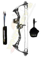 Diamond by Bowtech-Atomic-Black-Pink Limb Accents-Right Hand-6-29#-Free Release