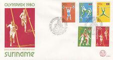 284138 / Niederlande Suriname FDC Olympia 1980