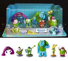 Disney MONSTERS UNIVERSITY Figurine Playset - 7 Figures CAKE TOPPERS