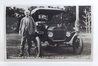 Vintage Thomas A. Edison Ford Car Fort Myers Florida Unposted Post Card G954