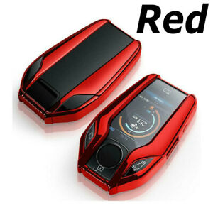 3 Buttons Soft Car Key Case Cover For BMW 5 Series G30 X3 6 Series GT X4 X5 I8