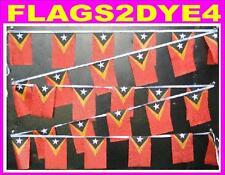 East Timor flag Timor Leste bunting flags + AUSTRALIA POST TRACKING
