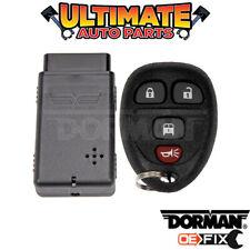 Key Fob Keyless Remote (4 Button w/Rear Cargo Door) for 11-15 Chevy Express Van