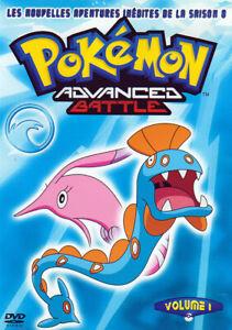 DVD Pokémon Advanced Battle Saison 8 Vol 1 Neuf sous cellophane
