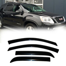 4pcs For 07-16 GMC Acadia/07-10 Saturn Outlook Sun Rain Vent Shade Window Visors