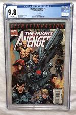Mighty Avengers #13 CGC 9.8 1st Secret Warriors 4x 1st Appearances 2nd Print HTF